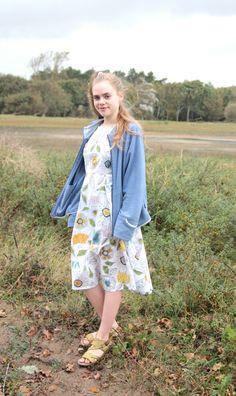 Een andere jurk die @klaske_duin  zelf heeft gemaakt  A other dress @klaske_duin  made herself  Taken with: Canon EOS 60D