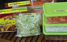 Meals for new parents, etc: Taco Delivery