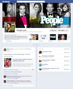 Timeline Facebook: People