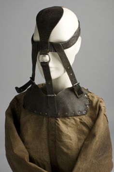 Gear: Blindfold, Muzzle, Straight Jacket, Leather Pants, Boots ...