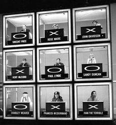 Hollywood Squares my favorties were Charley Weaver, Paul Lynde, and Rose Marie, that I can recall anyway..sure there were more..these stand out in my memory