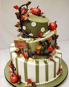 weddings with pumpkin decorations   Fall Wedding Cakes   Wedding Cake Ideas Pictures   Wedding Cake ...