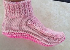 Kriskrafter: Better Dorm Boots - Free Knitting Pattern!