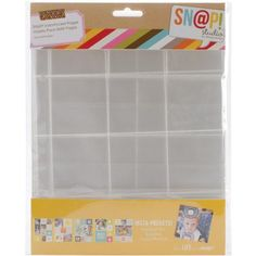 Simple Stories Snatp Insta Pocket Pages for 6 by 8Inch Binders Variety Pack 10Pack >>> Click image to review more details.