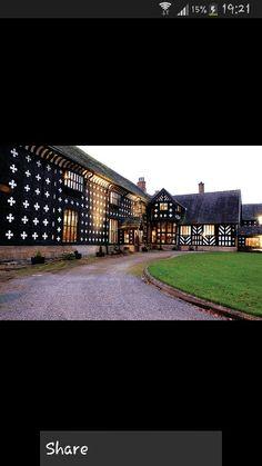 Salmesbury hall preston Lancashire