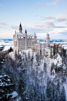 Neuschwanstein Castle, Bavaria, Germany ~Castle Combe~ The Marienburg, one of the most beautiful castles in Germany. Places Around The World, Oh The Places You'll Go, Places To Travel, Places To Visit, Travel Destinations, Wonderful Places, Beautiful Places, Neuschwanstein Castle, Famous Castles