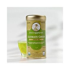 Zhenas Gypsy Tea Ultimate Organic Green Tea - Case of 6 - 22 Bags - This super antioxidant powered blend delights your palate with refreshing, fruity flavor, while your body is nourished by the rich levels of naturally occurring catechins found in green and white tea. Enhanced with green tea extract and powdered Matcha for ultimate renewal, rejuvenation and a fresh take on what is ultimately a delicious balance of health and happiness. Organic: 95%+ Organic Gluten Free: Gluten Free Dairy…
