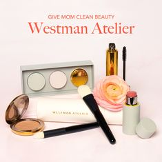 Give mom the gift of gorgeous makeup from Westman Atelier. Beautiful easy to wear shades created by Gucci Westman Organic Skin Care, Natural Skin Care, Alima Pure, One Love Organics, Clean Makeup, Gorgeous Makeup, Beauty Shop, Clean Beauty, Gucci