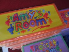 Buy FUNKY & COOL PERSONALISED NAME PLATES FOR KIDS ROOMSfor R1.00
