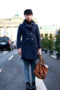 Bag! | Mens Berlin Street Style | Men's Look | ASOS Fashion Finder