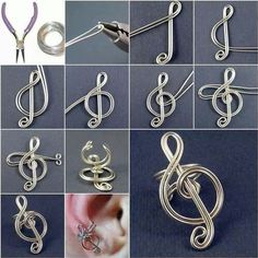 How to make a music earring.