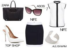 Black  #dresscode #summer at work #fashion at work  http://szaramyszka.pl/index.php?id=wpis_wpisu=160