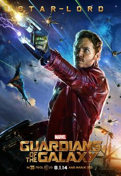 Marvel's Guardians of The Galaxy Character Poster: Star-Lord!