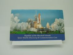 1988 Republic of the Marshall Island Space Shuttle Discovery $5 Commemorative   http://www.ebay.com/itm/1988-Republic-of-the-Marshall-Island-Space-Shuttle-Discovery-5-Commemorative-/181584455737?ssPageName=STRK:MESE:IT