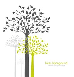28. Trees vector