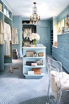 Drömmen om min egen en walk in closet | Valerie Aflalo | Bloglovin'