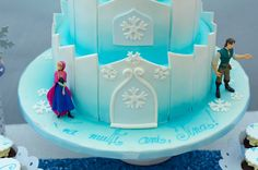 Frozen Party Frozen Party, Elsa, Cake, Pie Cake, Cakes, Cookies, Cheeseburger Paradise Pie, Jelsa, Pastries