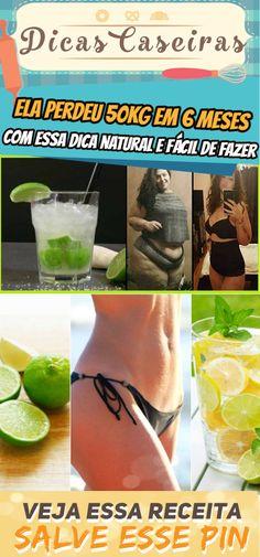 Ela perdeu 50kg em 6 meses com essa dica natural e fácil de fazer #emagrecer #dica #natural #dieta