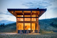 More than just your typical cabin in the woods, the Nahahum Cabin is a...