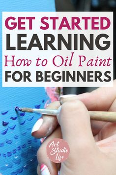 I recommend this how to oil paint for beginners getting started guide - It was exactly what I needed to realize I need to stop worrying about what I don't know and just start oil painting!!