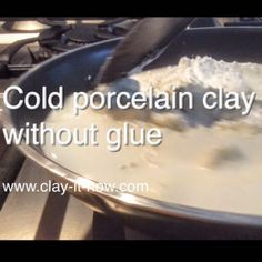 Try our cold porcelain without glue homemade clay recipe and see the comparisons between this, conventional cold porcelain and saltdough.