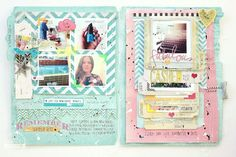 Heidi Swapp #memory file Gorgeous goodness!!!!-- this is a great way to store photos and memories, maybe a seasonal thing for our summer fun list.