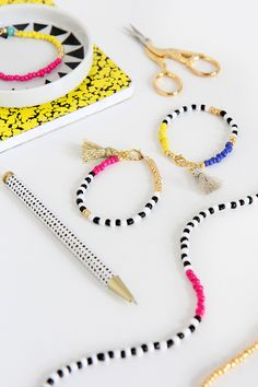 MY DIY | Beaded Tassel Jewelry