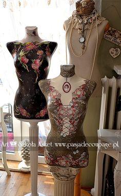 mannequins - vintaqge styles /manekiny w stylu vintage