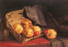 """""""Pomegranates and Easter eggs'' by Gyzis Nikolaos Painting Still Life, Still Life Art, Greek Paintings, Kunsthistorisches Museum, Greek Art, 10 Picture, Chiaroscuro, Museum Of Fine Arts, Art Museum"""