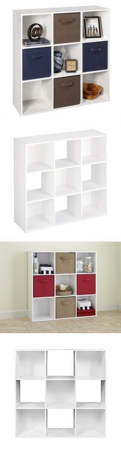 Nice Closet Organizers 43503: Closetmaid 9 Cube Cubeicals Storage Stacker  Organizer White New  U003e