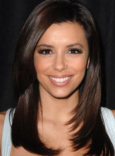 Straight layered haircuts for medium length hair pictures 2