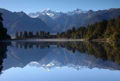 マシソン湖 ニュージーランド