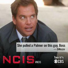 Pulled a Palmer... LOL #NCIS #Tony