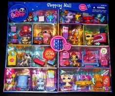 lps jumbo packs | Littlest Pet Shop Shopping Mall Play Set