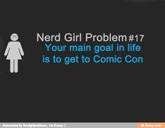 nerd girl problems  |