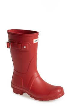 Hunter 'Original Short' Rain Boot (Women) available at #Nordstrom