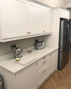 White Cabinets, Kitchen Cabinets, Blood Sweat And Tears, Georgia, Magnets, It Is Finished, Extension Ideas, Wimbledon, 1930s
