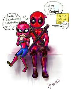 What was Deadpool going to say? 철컹철컹