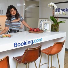 Had a blast transforming this empty office space at the iconic @empirestatebldg into a hotel room for Booking.com with the lovely @priyankachopra #bookingcom #aptdesign #fabrication #empirestatebuilding #2rcreative #bookingyeah 2 Instagram, Empire State Building, Empty, Space, Creative, Room, Fabric, Design, Floor Space