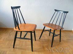 Original Fanett Chair Stuhl Teakholz Teak Ilmari Tapiovaara 50er 50s FINNLAND   eBay