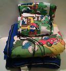 Vintage Smurf bedding - http://oddauctions.net/smurfs/vintage-smurf-bedding/