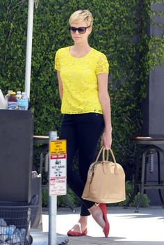 Charlize Theron in West Hollywood