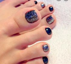 Simple Toe Nail Designs Pictures beautiful toe nail art ideas to try naildesignsjournal Simple Toe Nail Designs. Here is Simple Toe Nail Designs Pictures for you. Simple Toe Nail Designs 44 easy and cute toenail designs for summer cute di. Black Toe Nails, Pretty Toe Nails, Cute Toe Nails, Pretty Toes, Simple Toe Nails, Nice Nails, Stiletto Nails, French Pedicure, Manicure E Pedicure