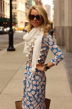 Pattern + scarf