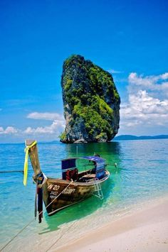 Just Pinned to TheBeautyOfTheSea: A Boat at Poda by norsez {Thx for 13 million views!} My other... http://ift.tt/2oAUN78