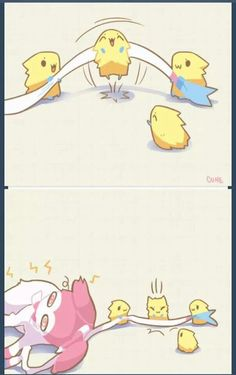 Sylveon and Joltik