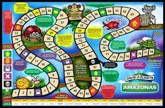 Jogos de tabuleiro | Ponto Dicas Board Game Template, Diy Games, Reading Strategies, Pre School, Diy For Kids, Vocabulary, Board Games, Gisele, Professor