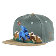 Mountain Division Blue Bear Strapback #cf-size-osfm #colorado #mountain