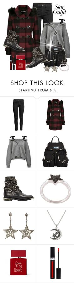 """""""Twinkle, Twinkle:  Star Outfits"""" by shamrockclover ❤ liked on Polyvore featuring Prada, Yves Saint Laurent, Alinka, Tiffany & Co., Bella Freud, Christian Dior and StarOutfits"""