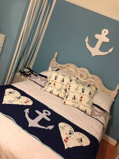 My nautical bedroom